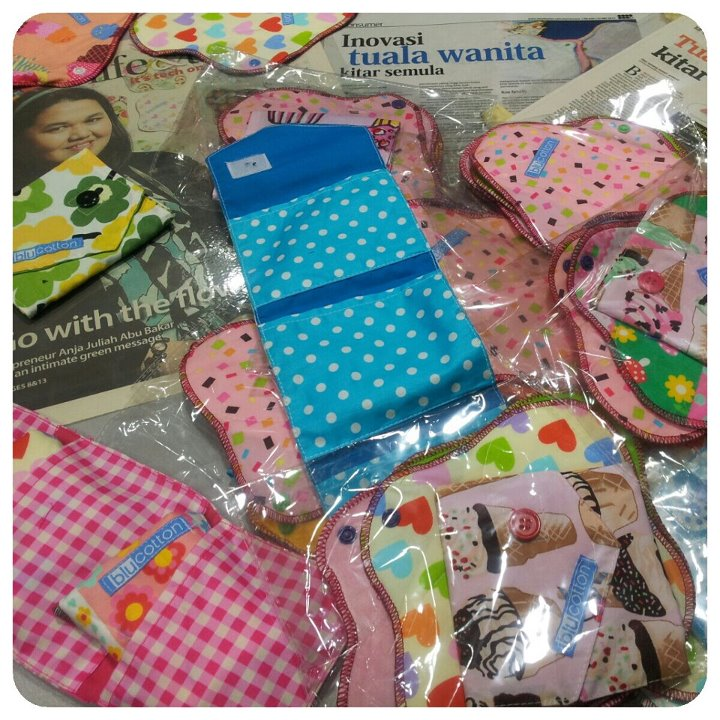 blucotton cloth pad