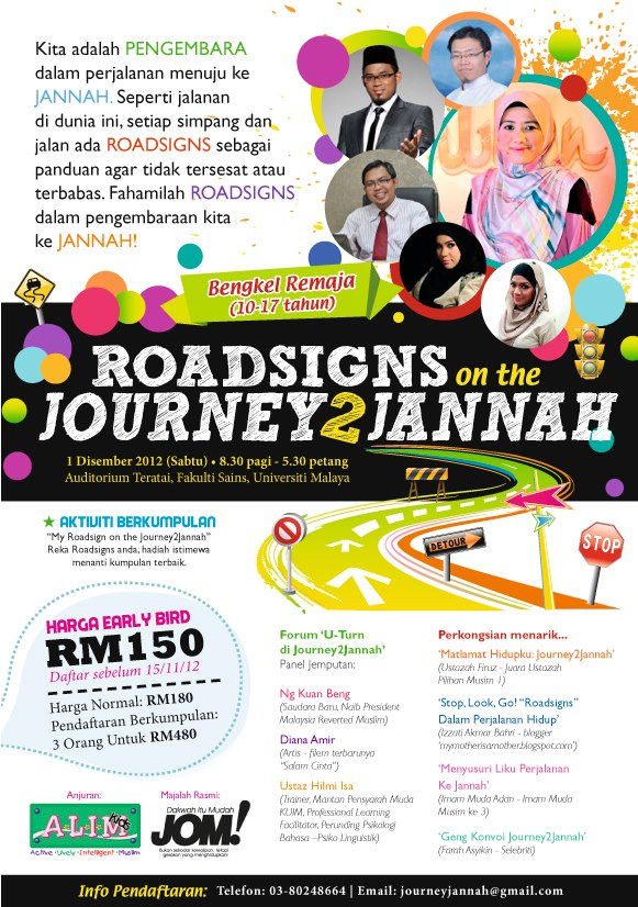 Program Remaja: Roadsigns On The Journey To Jannah
