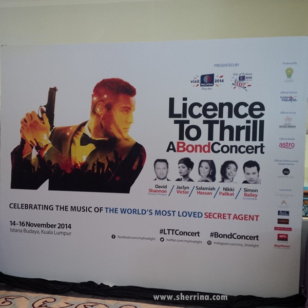 License To Thrill A Bond Concert